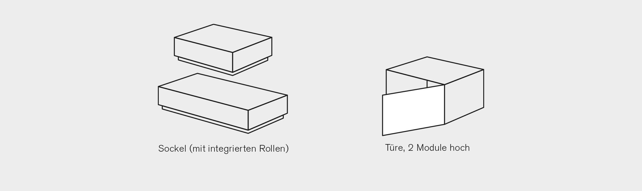 BARD AG   Modul-System   Sockel & Türe
